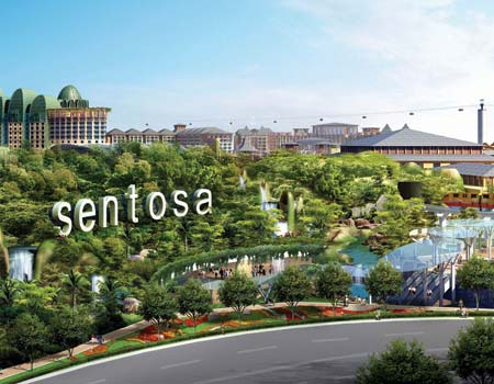 enjoy a day of fun an excitement in Sentosa!