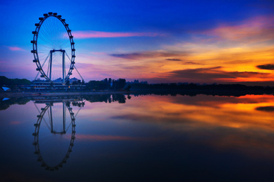 Singapore Flyer Picture on Chen Zhao Xing 1blessing   2011phslangfest